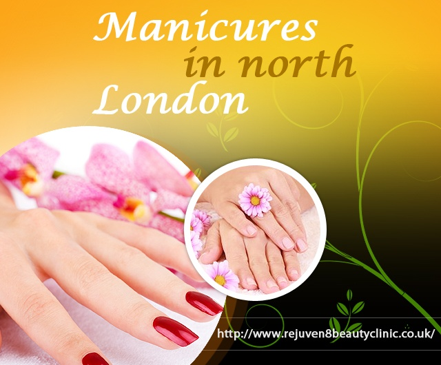 Get luxurious Manicure and Pedicure treatments at Rejuven8 Beauty Clinic based in North London, Crouch End, N8 and Muswell Hill.