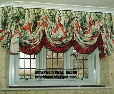 Austrian curtains classic, fashion types of curtains for window coverings 2014