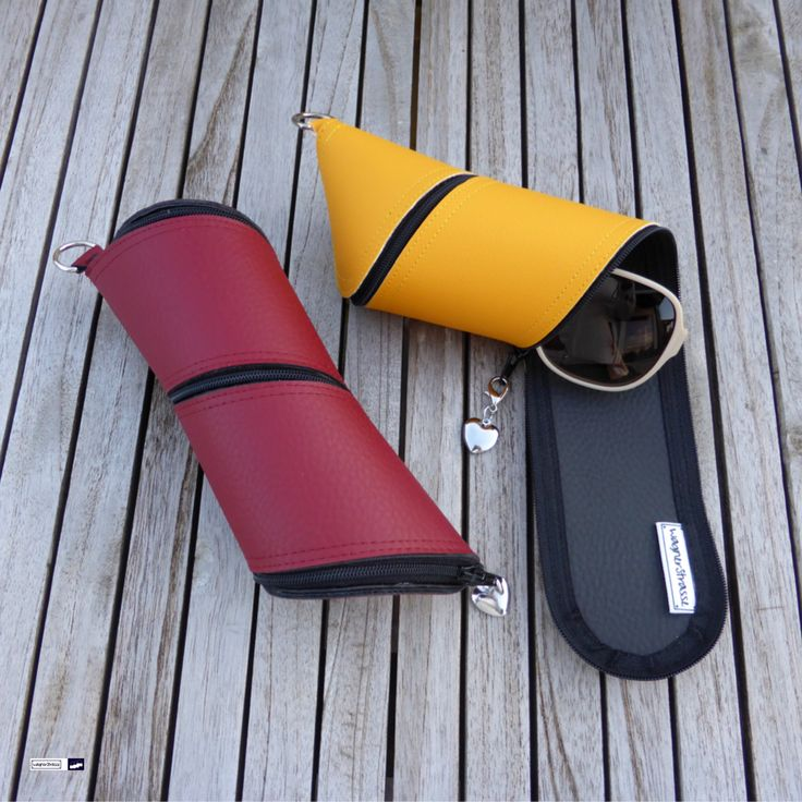 Latest release from wagnerstrasse Spring collection 2017: Sunglasses spiral cases in red and yellow high grade Skai- vegan leather. These beauties are a real eyecatcher and your sunglasses are well protected! At http://www.wagnerstrasse.de #brillenetui #brille #spectaclescase #spring2017 #frühling
