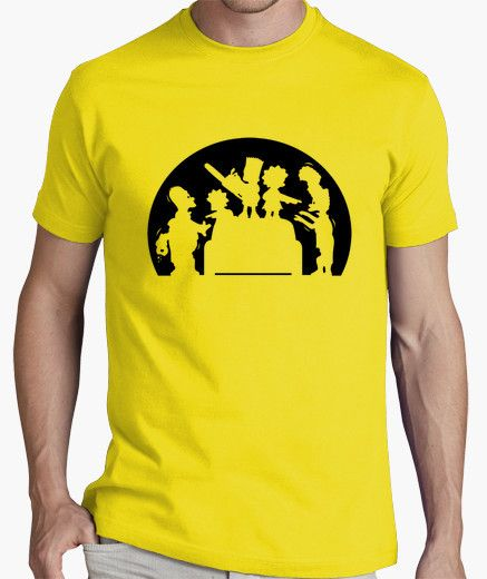 Camiseta Simpsons asesinos