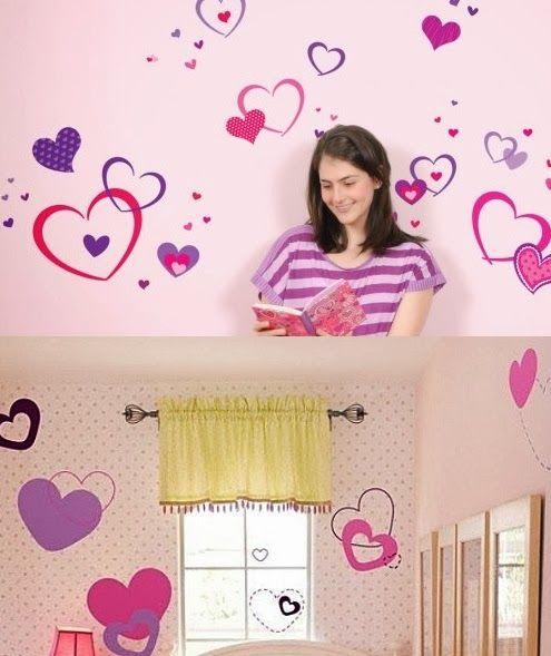 M s de 25 ideas incre bles sobre dormitorio flores para for Vinilos habitacion juvenil nina