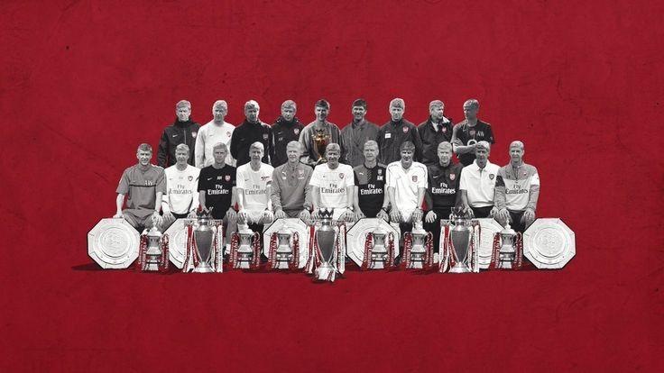 """20 лет Арсена Венгера в """"Арсенале"""" - на одной картинке   #Арсен #Арсенал #тренер"""