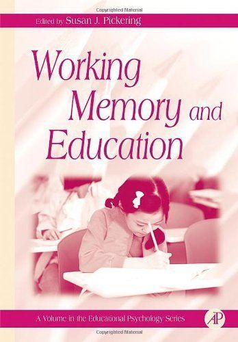 26 best thinking and language and intelligence images on pinterest working memory and education educational psychology by susan j pickering http fandeluxe Ebook collections