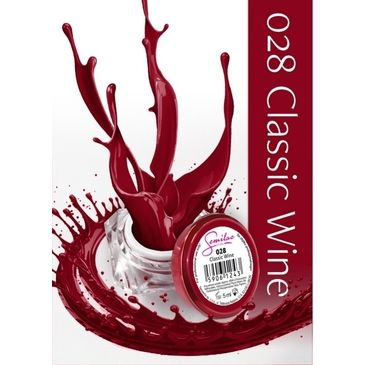 UV Gel χρώμα Semilac - 028 Classic Wine 5ml