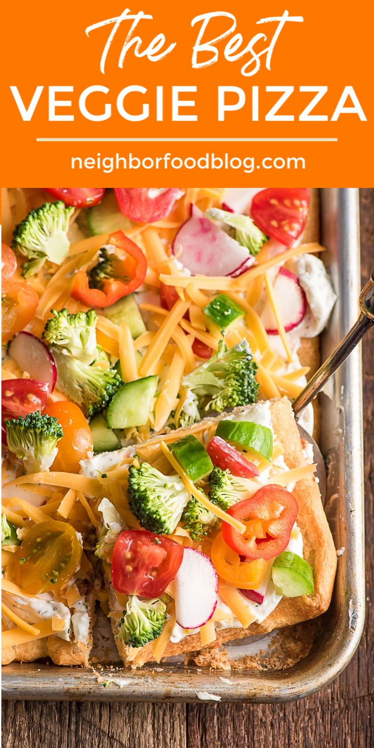 Jul 4, 2020 – This Cold Veggie Pizza is always a crowd pleaser! Serve it as an appetizer or side dish for summer gatheri…