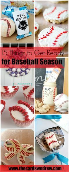15 Things to Get Ready for Baseball Season | www.thecardswedrew.com