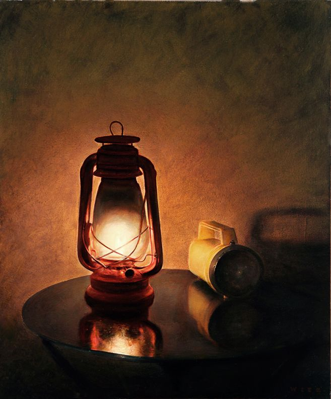 Dan Witz | Lantern & Flashlight