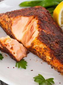 Cajun-Style Salmon | Food | Pinterest