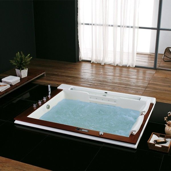77 best baignoires baln o images on pinterest jets. Black Bedroom Furniture Sets. Home Design Ideas