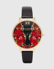 Olivia Burton  English Rose Large Dial Watch
