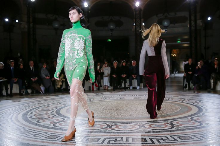 The Reality Distortion Field at Céline and Valentino - The New York Times
