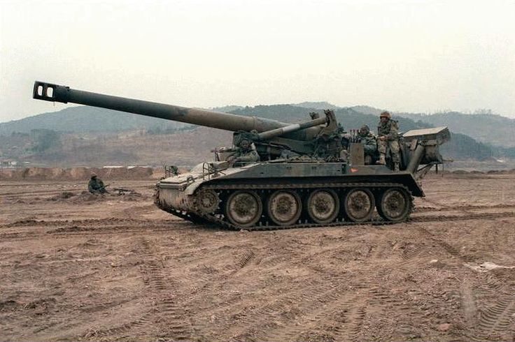 self propelled artillery | M110 8' Self-Propelled Howitzer