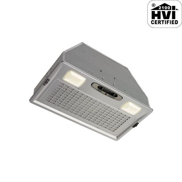 Broan PM390 390 CFM Custom Range Hood Insert with Incandescent Lighting from the Silver Range Hood Insert