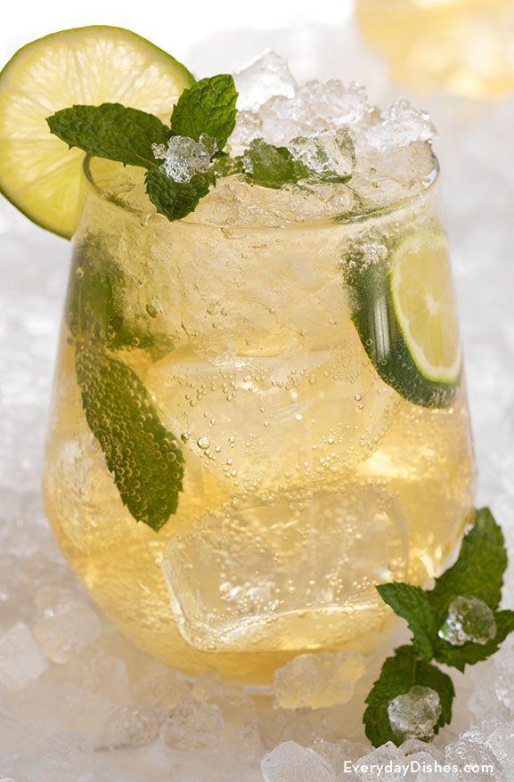 Honey mint whiskey mojito recipe