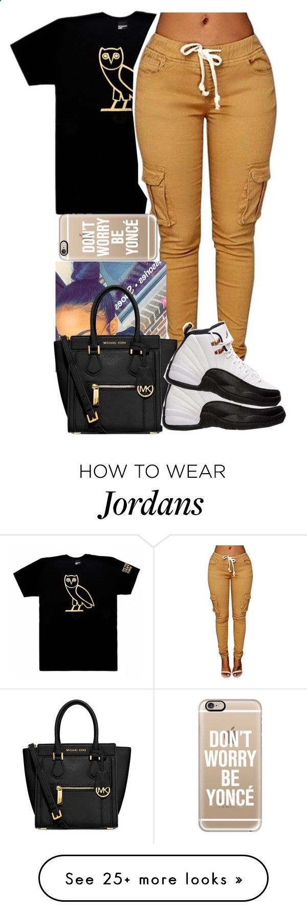 ~game changer by nya-hayward on Polyvore featuring Octobers Very Own, Casetify, MICHAEL Michael Kors and Retrò Adidas women shoes - amzn.to/2jB6Udm