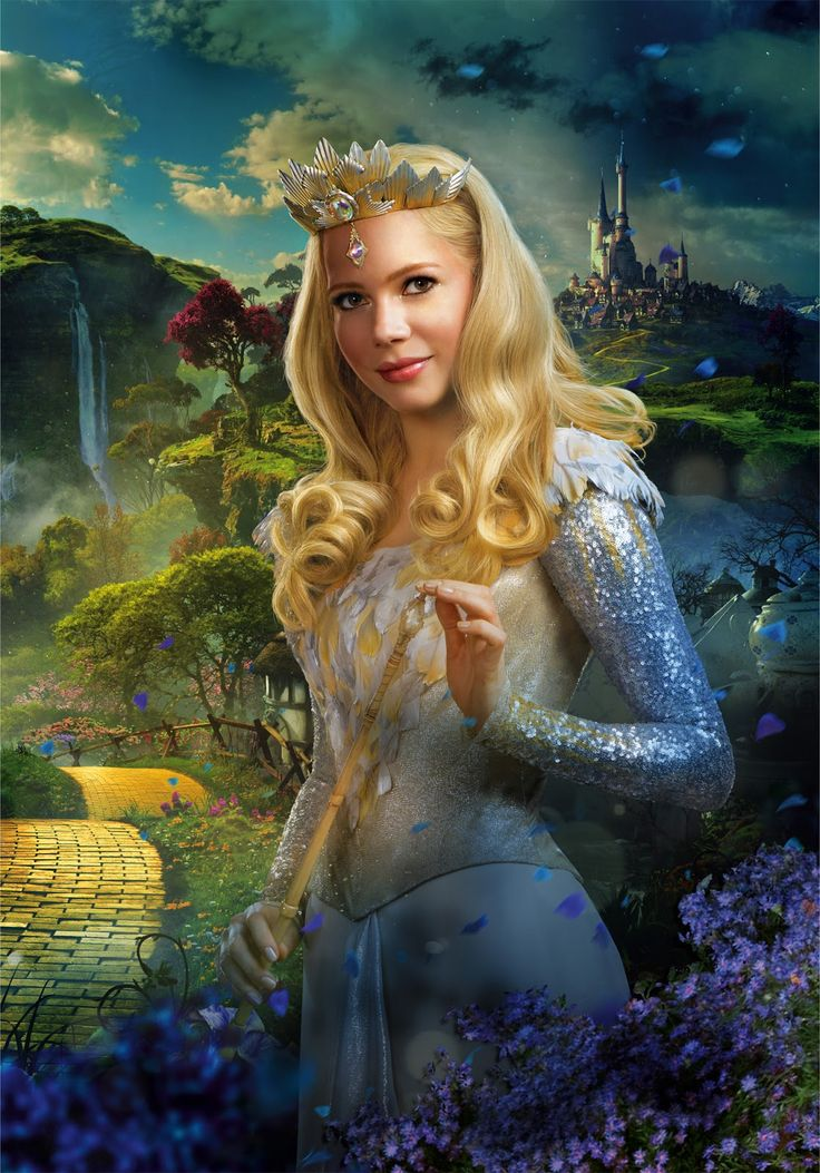 Oz: The Great and Powerful #Bubblewitch #Flyingwithstyle #Glinda #rolemodel