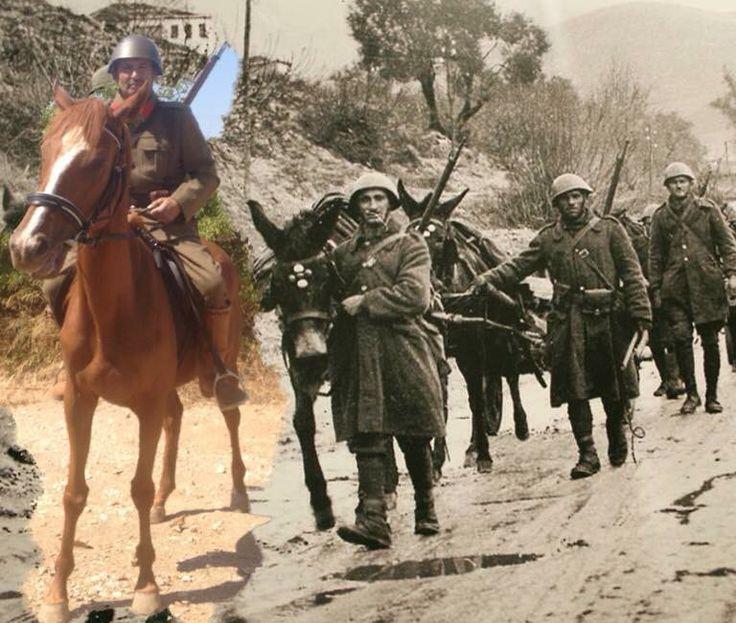 Greek armSoldiers WW2