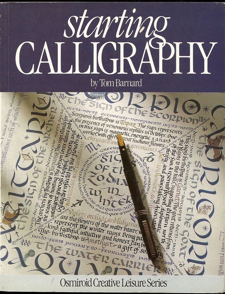 Best calligraphy books images on pinterest hand