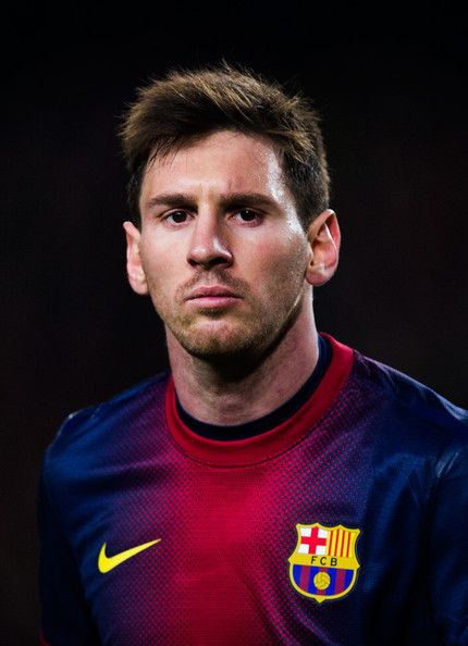 Lionel Messi, the best soccesplayer at the moment.