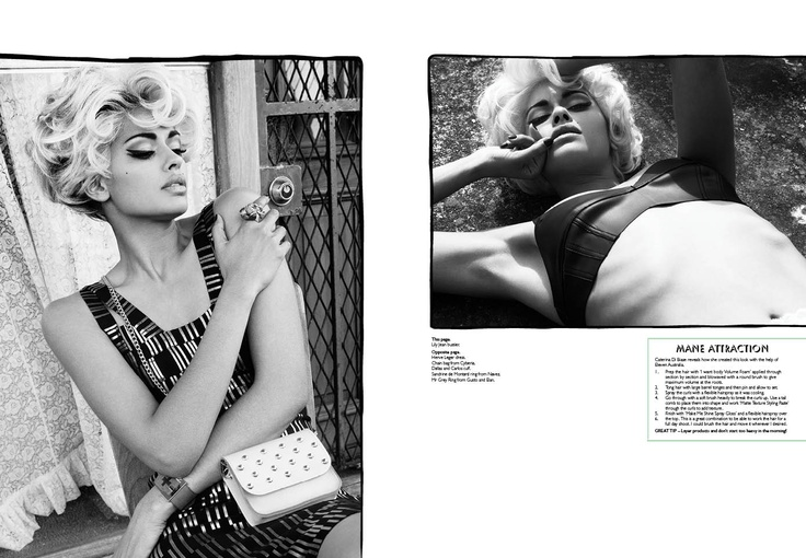Heat Wave layout - culture Magazine Yearbook 2013