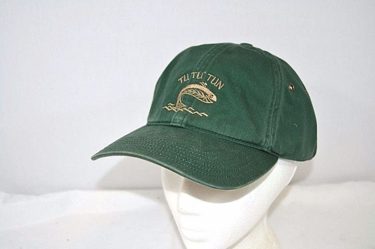 TU TU' Tun Green Baseball Cap Buckle Strap #Richardson #BaseballCap
