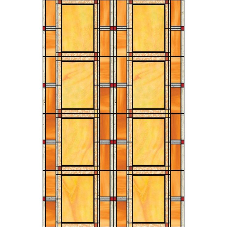 DC Fix Arts and Crafts Stained Glass Window Film - Set of 2 - T346-0437