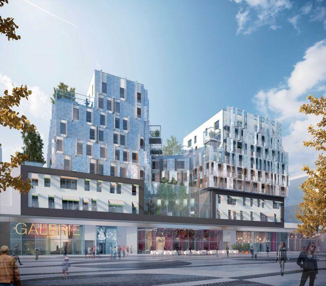 D'une conception architecturale résolument contemporaine, cet ensemble fait partie intégrante du tout nouveau quartier qui se dessine le long du boulevard Macdonald. #appartementneuf #appartement #neuf #rechercheappartement #achat #maréchaux #paris #paris19 #jardin #programmeneuf #zipimmobilier