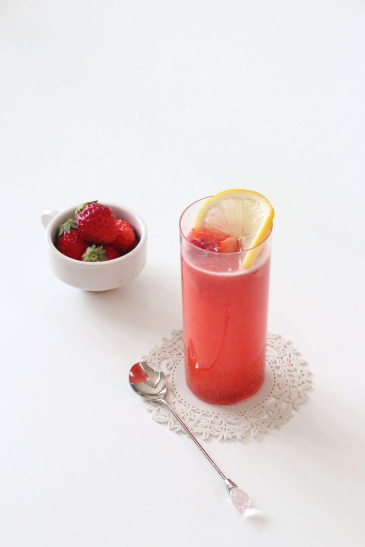 いちごのカクテル。 by 栁川かおり | レシピサイト「Nadia | ナディア」プロの料理を無料で検索