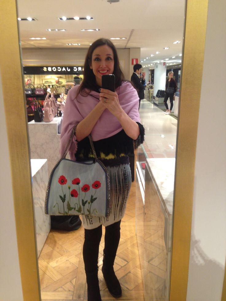 Trying out Stella McCartney's Spring bag range