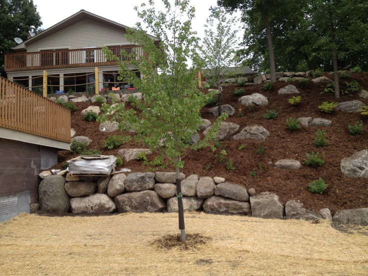 Landscaping Steep Hill | of a steep hill we sucessfully landscaped contact us today to find out ...