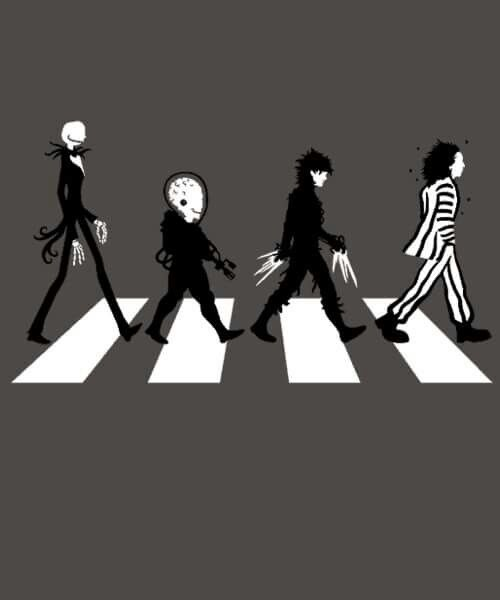 Tim Burton Abbey Road                                                                                                                                                      More