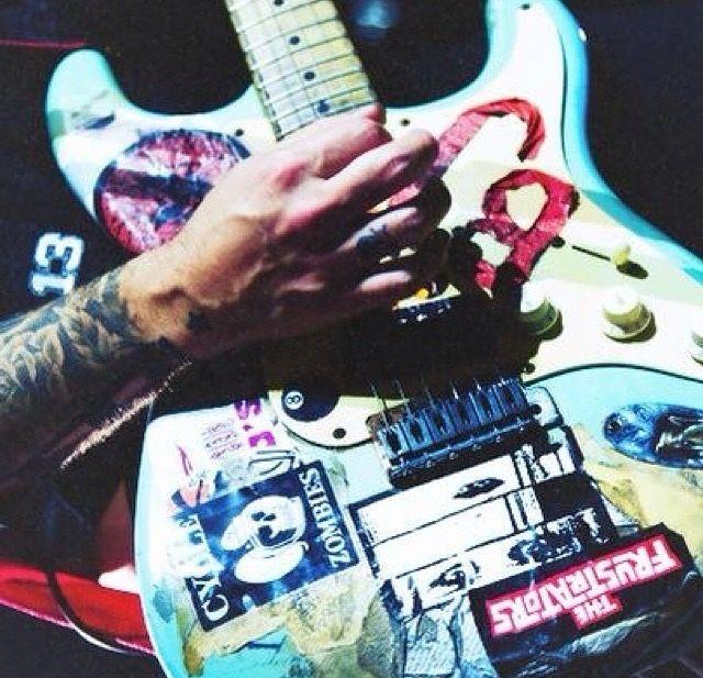 Green Days Billie Joe Armstrongs First Guitar A Fender