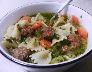 Italian Style Meatball Soup