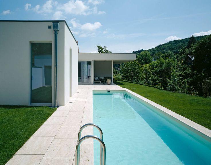 73 besten pool bilder auf pinterest moderne h user schwimmb der und architekten. Black Bedroom Furniture Sets. Home Design Ideas