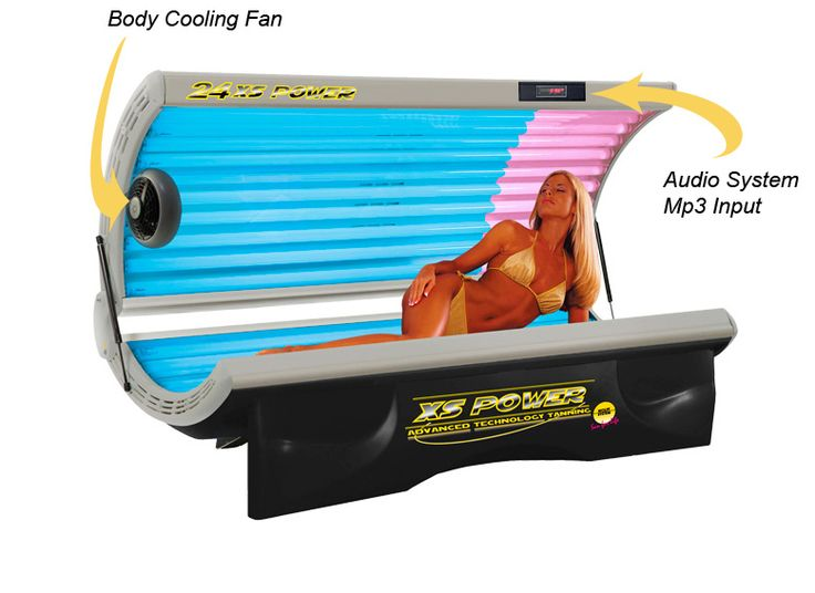 "24 XS Power ""Delux"" Facial 220 Volt Tanning Beds The 24 XS Power ""Delux"" Facial 220 Volt tanning bed has 24 tanning lamps in a comfortable, curved tunnel design that makes maximum use of reflected rays. If you are looking for a deep, rich tanning experience at home, the 24 XS Power ""Delux"" Facial 220 Volt will satisfy your tanning needs."