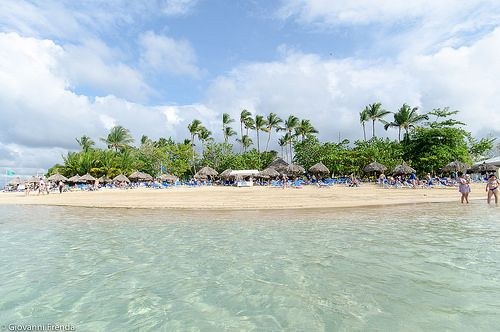 Playa El Portillo (Las Terrenas de Samanà Repubblica Dominicana)
