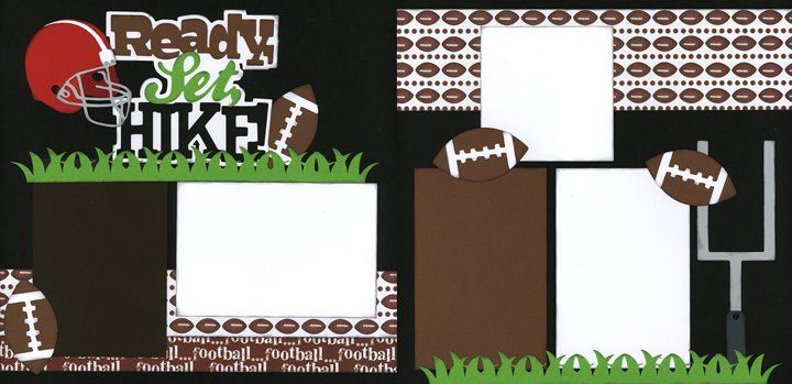 footballscrapbooking | Football Scrapbook Layout | Scrapbooking - Football