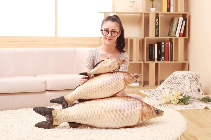 11.29$  Watch here - http://ali8d5.shopchina.info/1/go.php?t=32799714305 - New 3D Grass Carp Pillow PP Stuffed Plush Simulation Animal Fish Toy Big Classic 80cm 1pcs Children Lovers Birthday Gift  #buyininternet