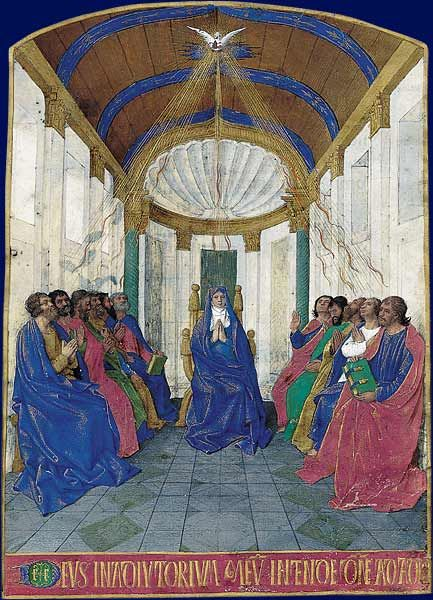 the pentecost by jean restout