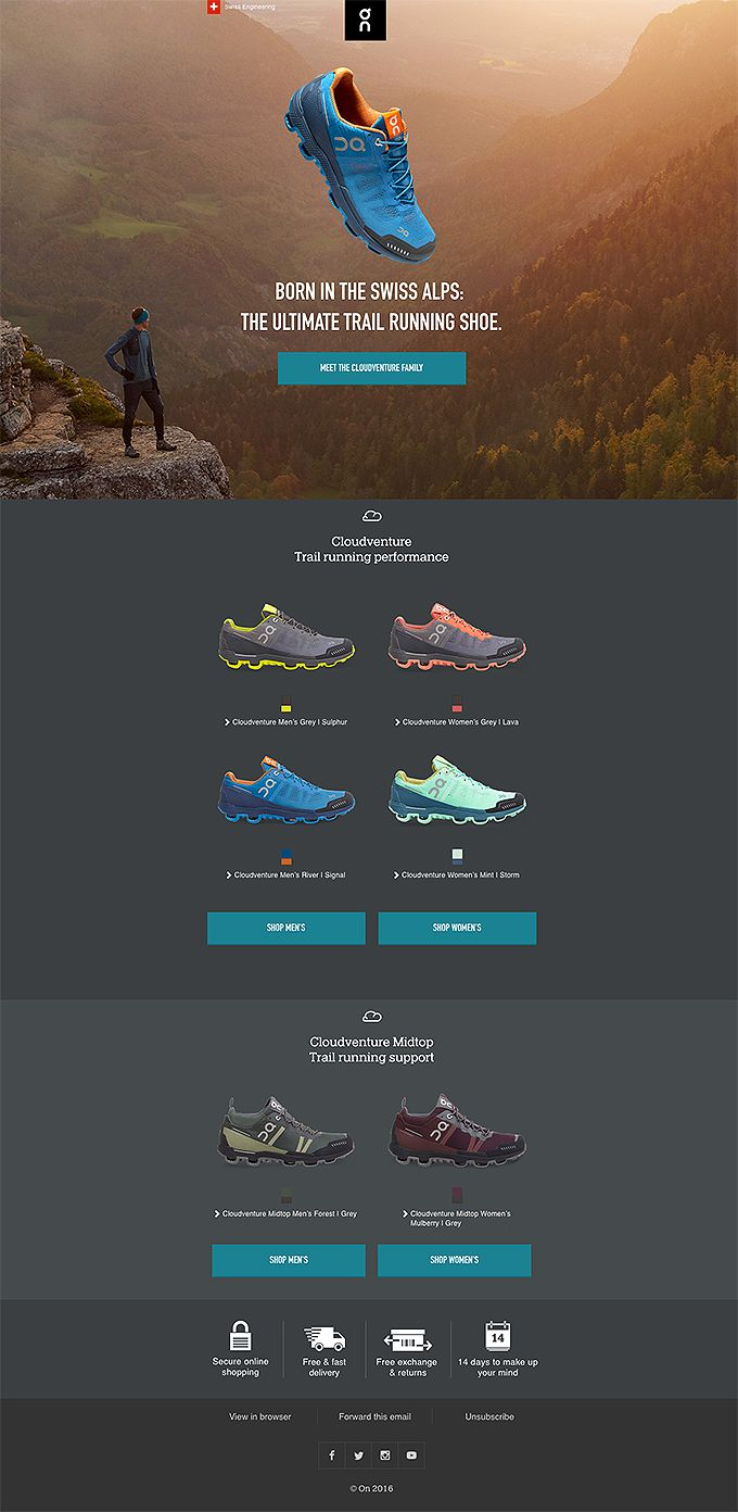 ☁ GLOBAL LAUNCH: our first ever trail running shoe. The Cloudventure.