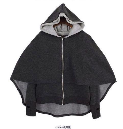 Double hood zippers