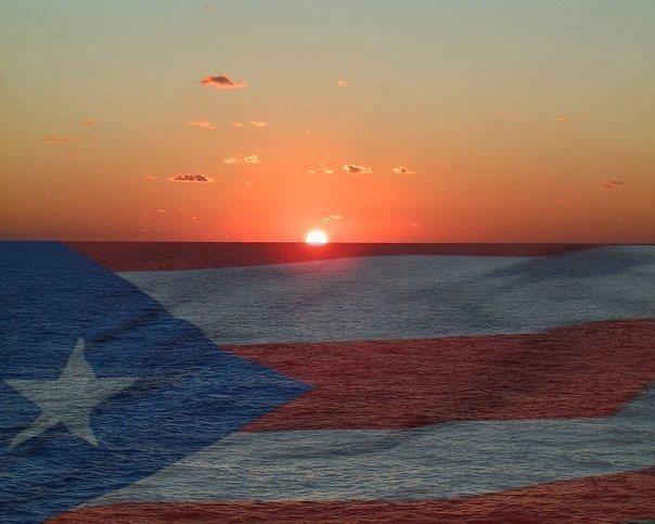 Puerto Rican flag.