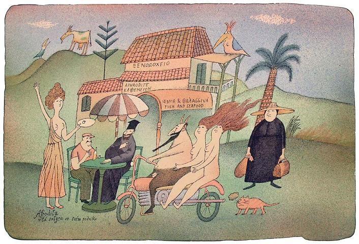 Adolf Born Czech painter and illustrator ~ Blog of an Art Admirer