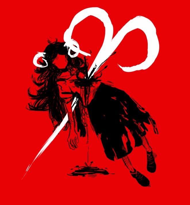 Aradia - Homestuck I just now understood the picture. REMINDS ME OF WHAT VRISKA DID TO SOLLUX. AAAGGGHHH I HATE VRISKA