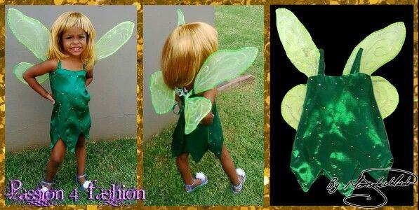 Kiddies Tinkerbell dress and wings. #mariselaveludo #passion4fashion #tinkerbell #tinkerbelldress #dressup #costume #kidscostume