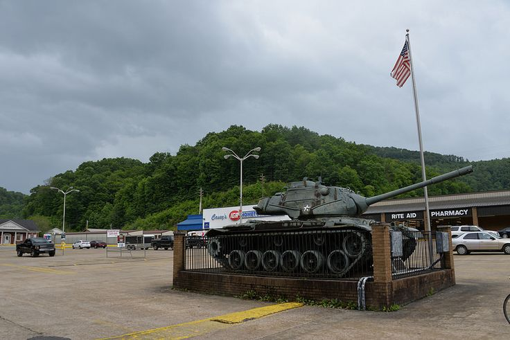 Tank at Holly Hills Shopping Center, Knott County, KY