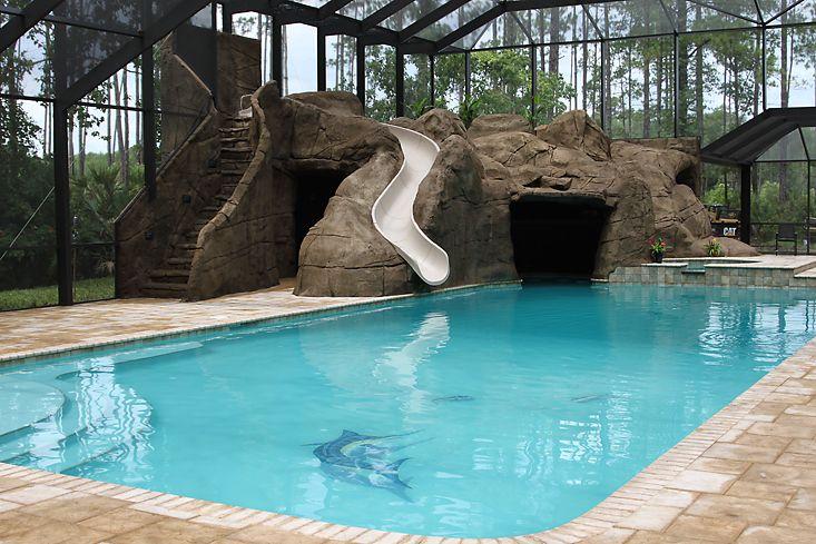 49 best indoor pools images on pinterest indoor pools for Indoor swimming pool builders