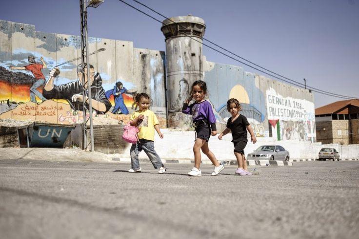 Arte para la resistencia palestina sobre el muro de Cisjordania. Miscelánea visual.
