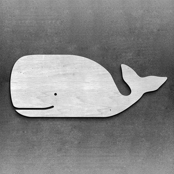 Wood Whale Wall Decor Beach/Nautical Decor by MiaPreciousMemories