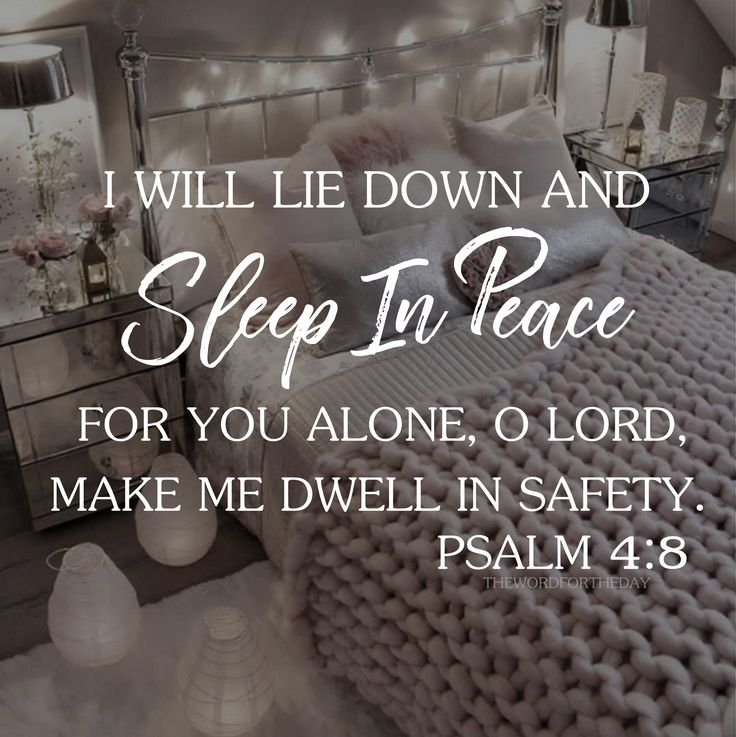 #insomnia #sweet sleep #worry #panic #Jesus Christ #the word for the day quotes #christian life #bible verse #psalms